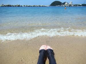 竹波(水晶浜)海水浴場は、夏の定番スポット!カップルやデートに最適♪