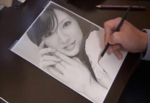 これが鉛筆一本で!?超リアルな写真にしかみえない美しい有名人の似顔デッサン集!!