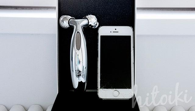 ReFa CARAT FACE(リファカラットフェイス)iPhoneと比較