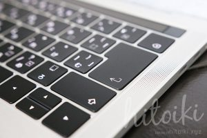 apple_macbook-pro_13inch_touchbar_img_5948 マックブックプロ タッチバー タッチID