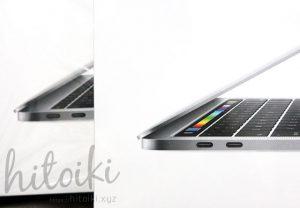 マックブックプロ タッチバー タッチID apple_macbook-pro_13inch_touchbar_img_5954