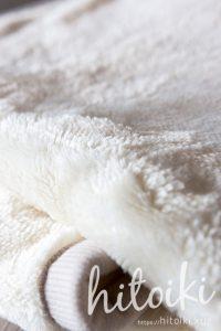 ニトリの毛布の質感・保温性 nitori_electricbeddingblanketimg_3558