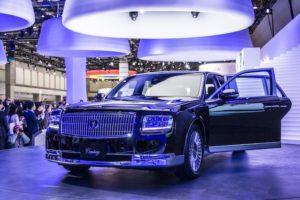 トヨタ 未来 次期型 新型 センチュリー 東京モーターショー