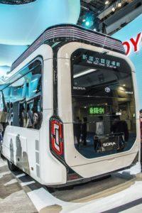 トヨタ 未来のバス 東京モーターショー