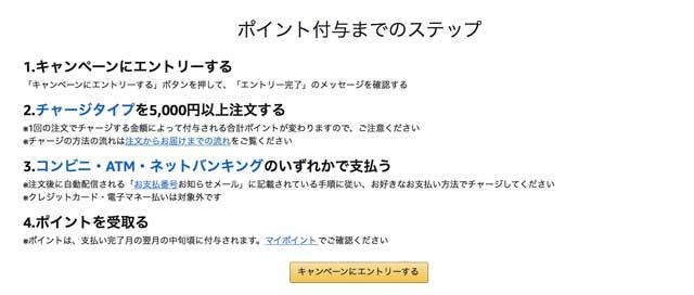 アマゾンチャージで1000円プレゼントキャンペーン 公式サイト amazon_ campaign02