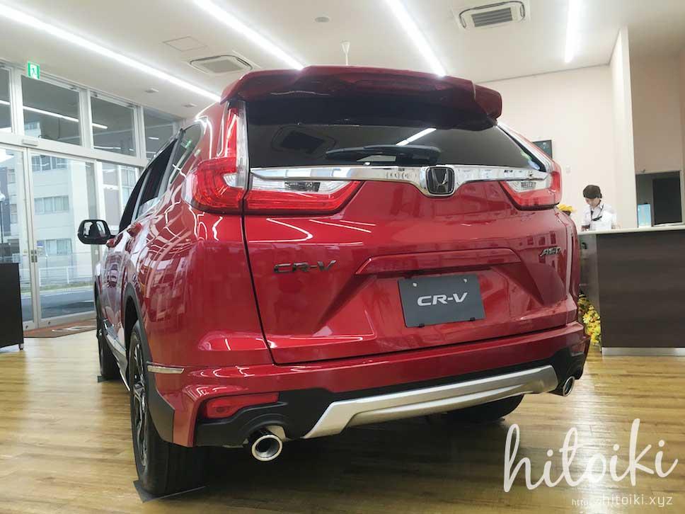 量産車のエクステリア 2018_honda_cr-v_crv_new_img_9034