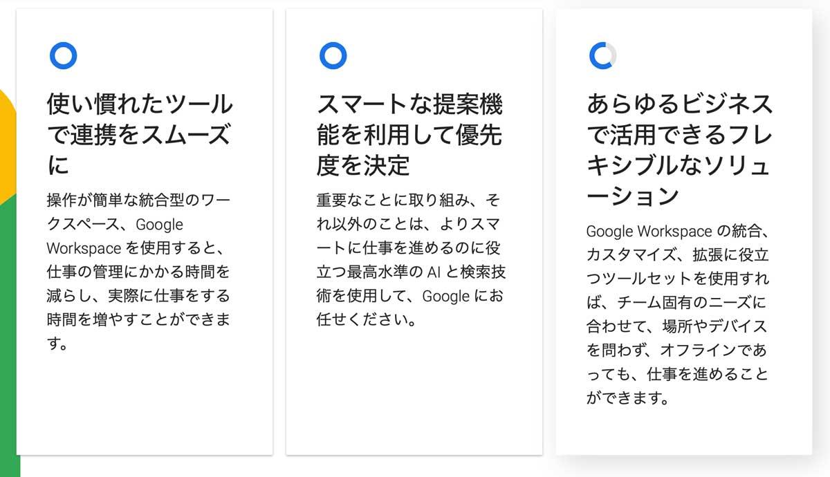 公式情報あり!GoogleのWorkspace(ワークスペース)が10%割引!お得な限定クーポンコードを配付中! google_workspace_02