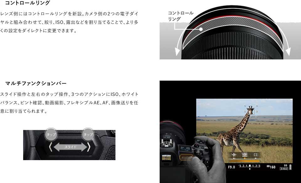キヤノンの新型フルサイズミラーレスカメラ EOSRのスペックや特徴、新機能などをまとめた canon_eos_r_13