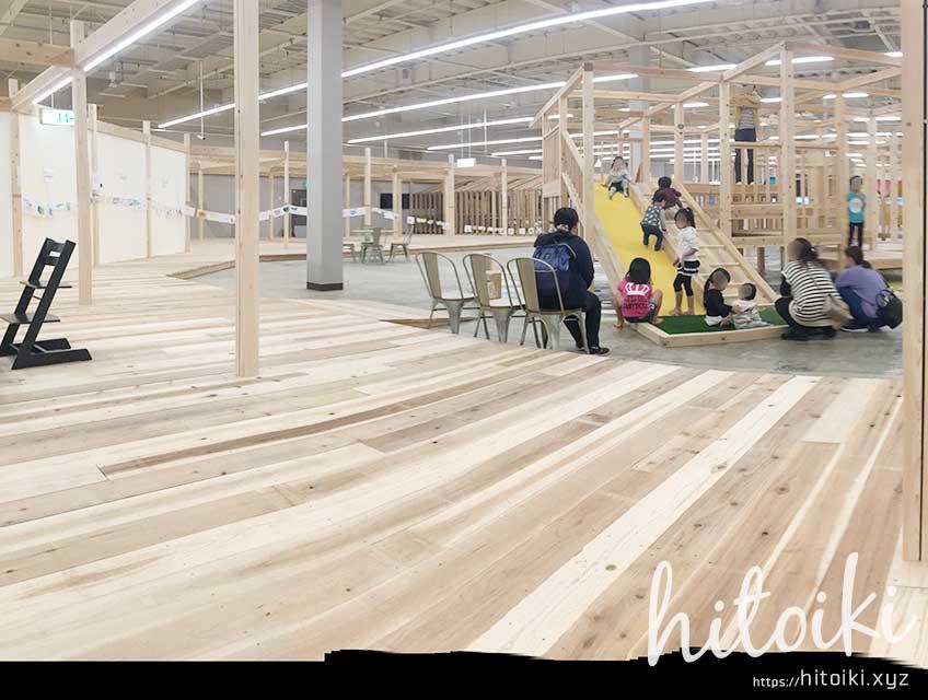 モリワクマーケット 養老店 雨の日に無料で遊べる親子向けアスレチック施設(レジャー施設) moriwaku_market_img_9496_01