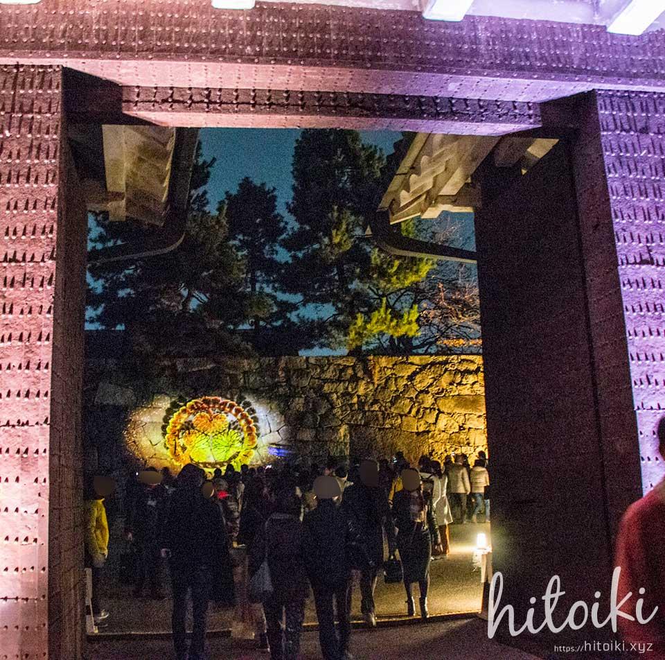 nagoyajo_nagoya-nightcastle_img_8364冬は名古屋城デートがオススメ!プロジェクションマッピングが開催!アクセス方法とレポートをまとめた!