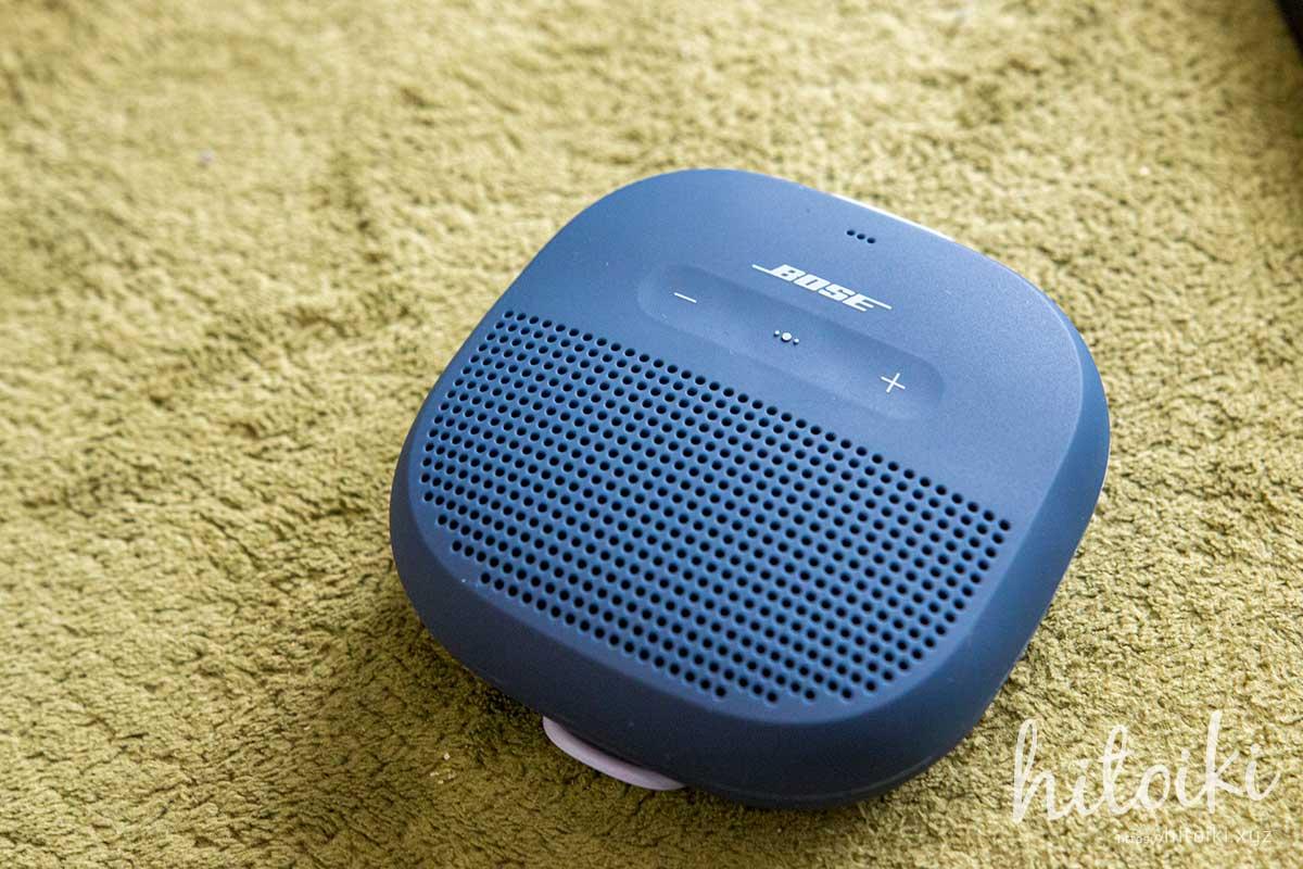 BOSEの防水Bluetoothスピーカー SoundLink Micro Bluetooth® speaker(サウンドリンク マイクロ スピーカー・SLINKMICROBLU)に満足!人気のボーズの評価・評判・レビュー・クチコミ・効果・口コミをまとめた!選び方で失敗しない&後悔しないために、YouTubeで人気の視聴動画もまとめた! bose_soundlink-micro_img_9457