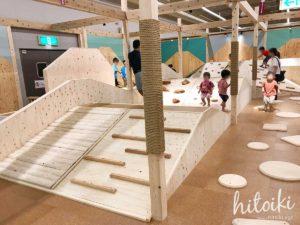 東海・名古屋・岐阜の雨の日に遊べる&人気お出かけスポット!森のわくわくの庭(旧モリワクマーケット)は走り回れる室内遊具が満載!