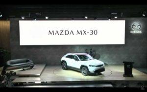 速報!マツダMX-30(MAZDAMX-30、MX30)の公式発表会の様子をまとめた!(東京モーターショー2019)