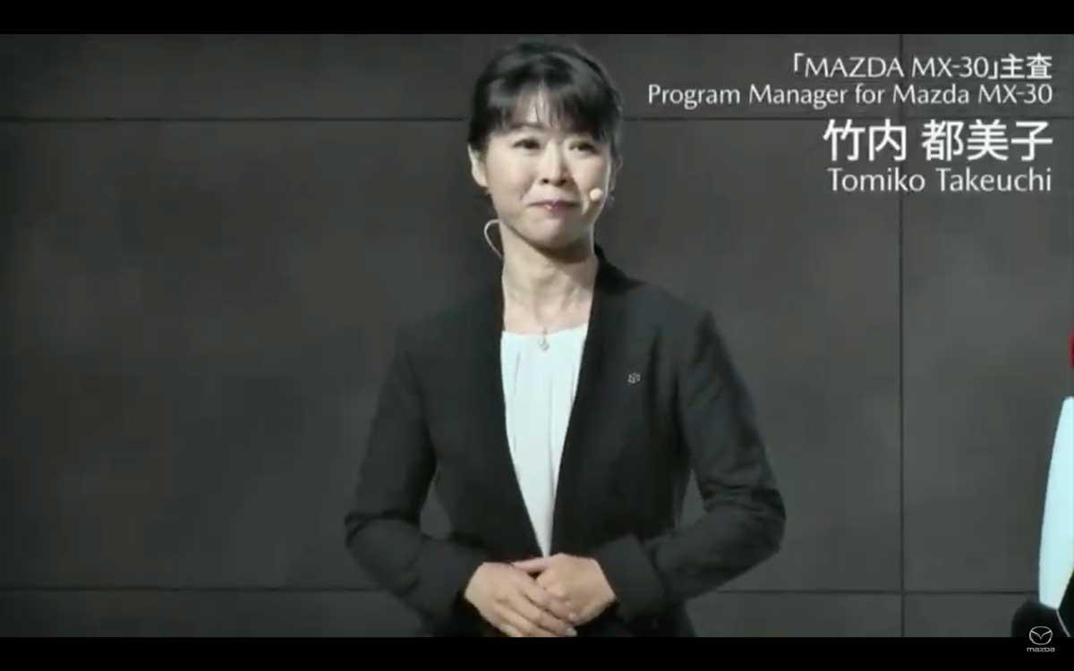開発主査 竹内さん マツダMX-30(MAZDAMX-30、MX30)の日本仕様 公式発表会の様子をまとめた! mazdamx-30_mx30_04-01