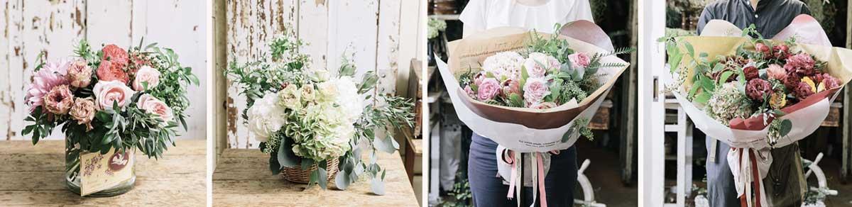 お花をオーダーメイド!開院祝い・開店祝い・開業祝い・誕生日・記念日に!オリジナル装花が贈れるプーコニュ! PEU・CONNU 公式サイト peu-connunet02