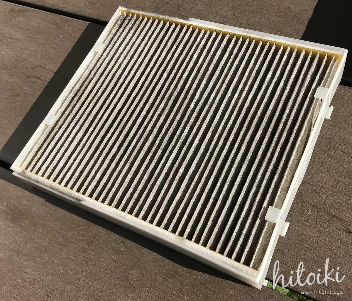 CX-8のエアコンフィルターの交換方法!デンソーの型番(DCC1014)や手順をまとめた!初心者での簡単にできるのでオススメ! cx-8_cx8_air-conditioner-filter_denso_dcc1014_014535-3110_img_2371
