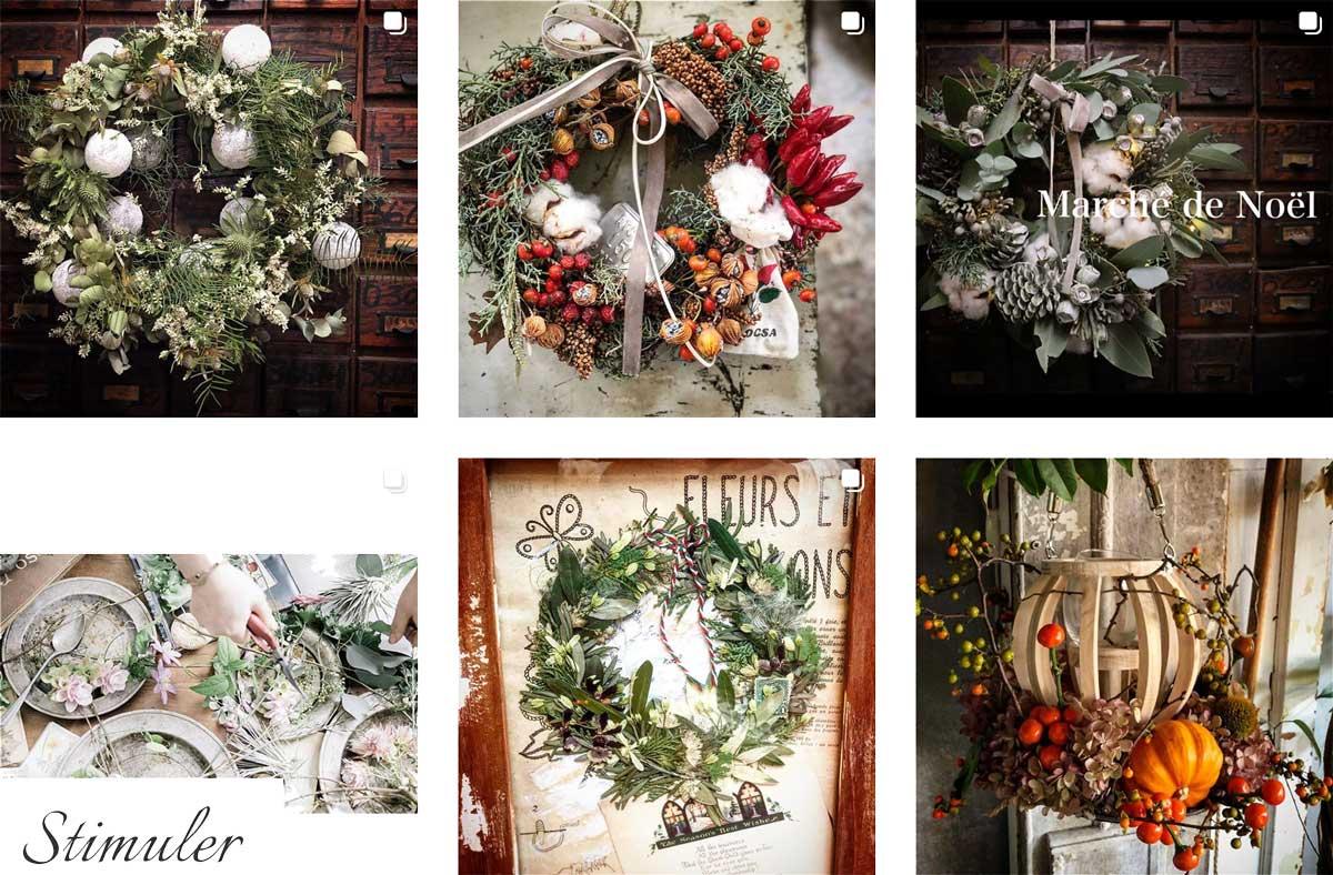 おしゃれな結婚式や記念日のお花 もうすぐ1万人突破!名古屋大須のお花屋 プー・コニュ(PEU・CONNU)さんのInstagramフォロワーが増加中! peuconnu_instagram_02