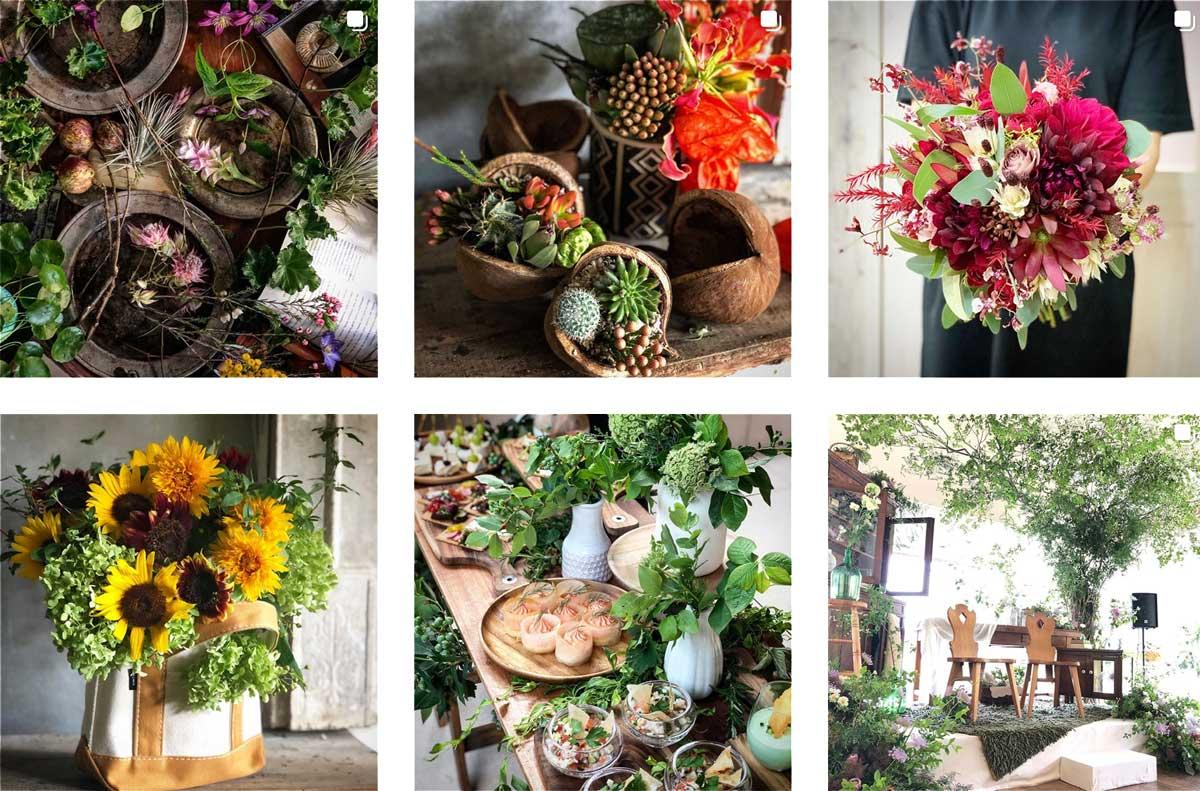 おしゃれな結婚式や記念日のお花 もうすぐ1万人突破!名古屋大須のお花屋 プー・コニュ(PEU・CONNU)さんのInstagramフォロワーが増加中! peuconnu_instagram_03