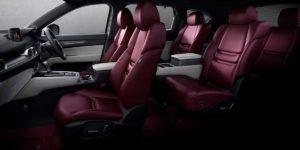 MAZDA CX-8に100周年特別記念車が登場!白×ワインレッドの内装がめちゃくちゃオシャレ!