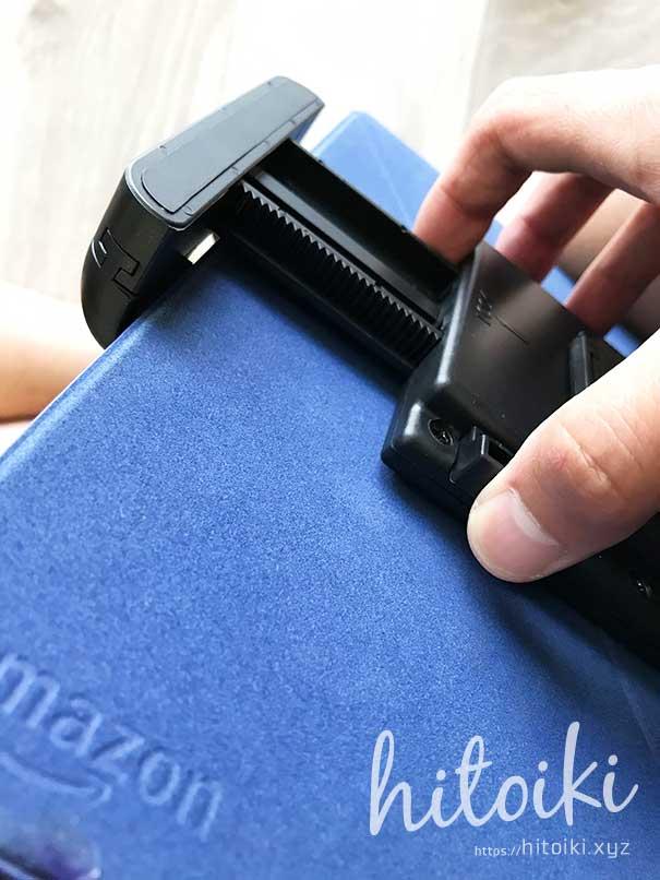 CX-8の後席用タブレットモニターホルダーにiKrossがおすすめ!10インチのFireHD10タブレットやiPadでも安定取付可能!評価・評判・レビューをまとめた! ikross_tablet-holder_img_3161