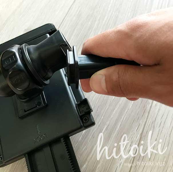 CX-8の後席用タブレットモニターホルダーにiKrossがおすすめ!10インチのFireHD10タブレットやiPadでも安定取付可能!評価・評判・レビューをまとめた! ikross_tablet-holder_img_3166