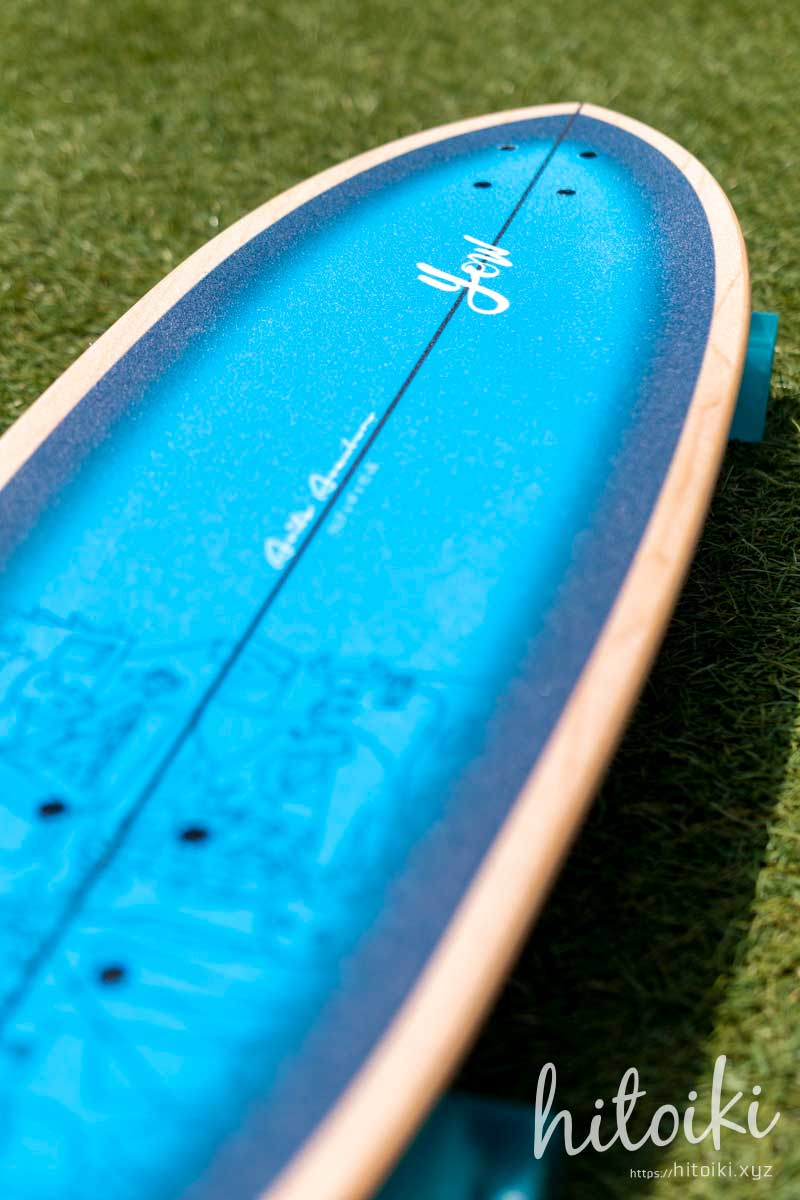 YOW(ヤウ)サーフスケート入荷!カーバーではなくヤウのスケボーを選んだ理由! yowsurf_aritz-aranburu-32-5-inches_img_2109