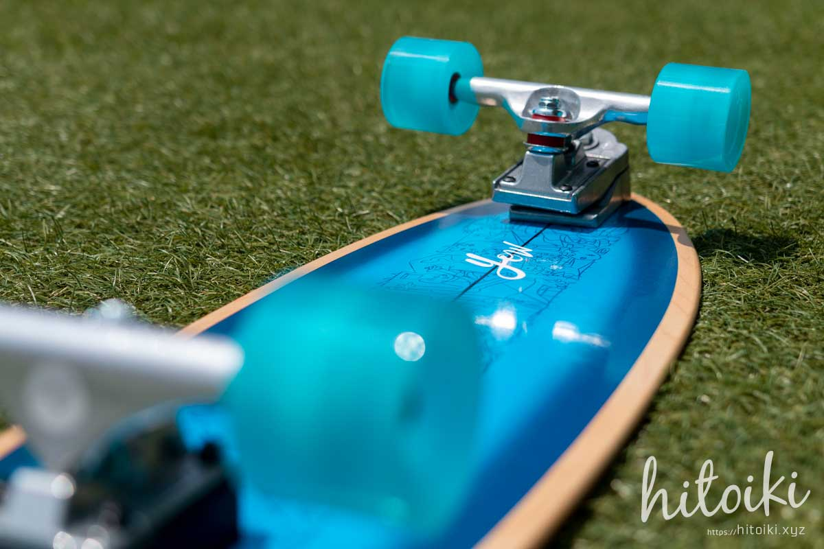 YOW(ヤウ)サーフスケート入荷!カーバーではなくヤウのスケボーを選んだ理由! yowsurf_aritz-aranburu-32-5-inches_img_2122