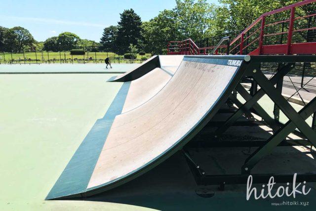 庄内緑地公園のスケートパークに行ってみた!ローカル色もなく、子どもや初心者でも安心してサーフスケートやスケボーができる場所だった!