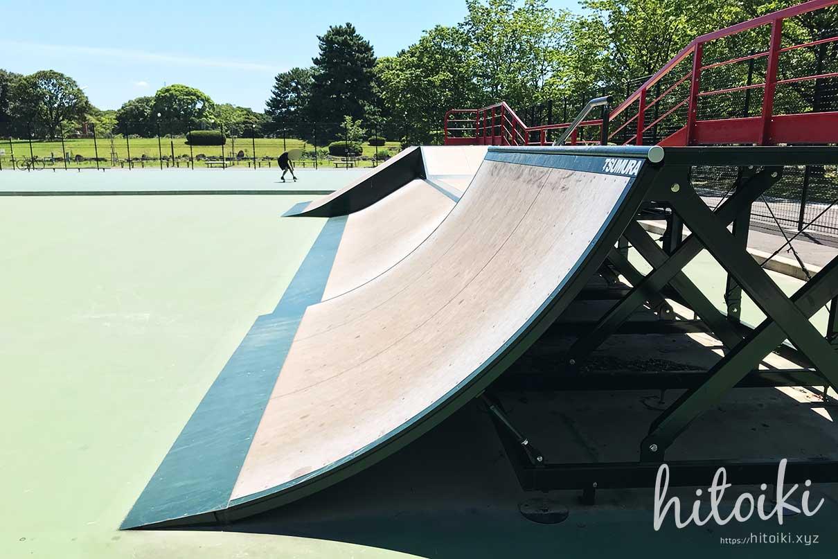 庄内緑地公園のスケートパークに行ってみた!ローカル色もなく、子どもや初心者でも安心してサーフスケートができる場所! shonai-ryokuchi_skatepark_img_3674