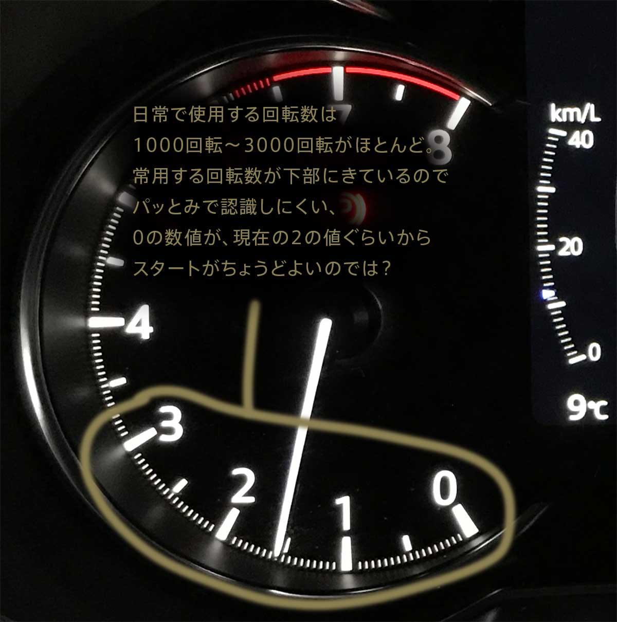 MAZDA CX-8を2台乗ってきて感じた!マツダのTFT液晶メーターの弱点や改善すべきポイントとは? mazda_cx-8_cx8_tft_lcd_meter_04